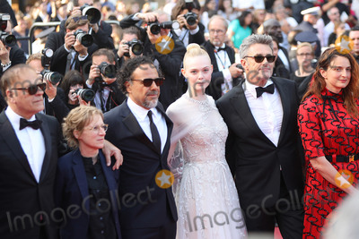 Alice Rohrwacher Photo - CANNES FRANCE - MAY 25 (L-R) Jury Members Alice Rohrwacher Pawel Pawlikowski Elle Fanning Alejandro Gonzalez Inarritu Kelly Reichardt and Enki Bilal attend the closing ceremony screening of The Specials during the 72nd annual Cannes Film Festival on May 25 2019 in Cannes France (Photo by Laurent KoffelImageCollectcom)