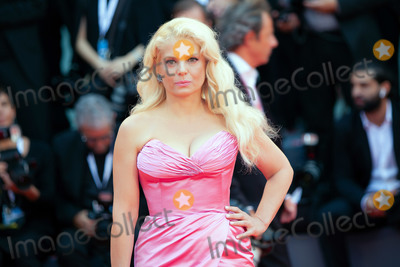 Angela Ismailos Photo - VENICE ITALY - AUGUST 31 Angela Ismailo walks the red carpet ahead of the A Star Is Born screening during the 75th Venice Film Festival at Sala Grande on August 31 2018 in Venice Italy(Photo by Laurent KoffelImageCollectcom)