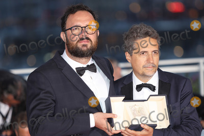 The Jury Photo - CANNES FRANCE - MAY 25 Juliano Dornelles and Kleber Mendona Filho winners of the Jury Price for Bacurau pose at thewinner photocall during the 72nd annual Cannes Film Festival on May 25 2019 in Cannes France(Photo by Laurent KoffelImageCollectcom)