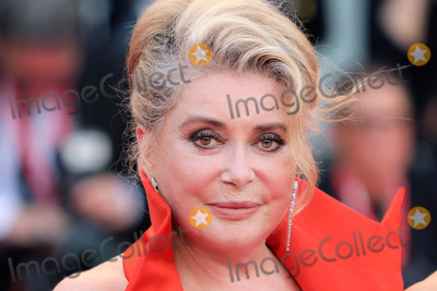 Catherine Deneuve Photo - VENICE ITALY - AUGUST 28 Catherine Deneuve walks the red carpet ahead of the Opening Ceremony and the La Vrit (The Truth) screening during the 76th Venice Film Festival at Sala Grande on August 28 2019 in Venice Italy (Photo by Laurent KoffelImageCollectcom)