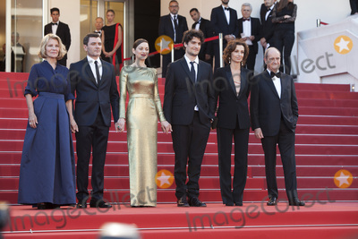 Nicole Garcia Photo - CANNES FRANCE - MAY 15 Nicole Garcia Alex Brendemuhl Marion Cotillard and Louis Garrel attends the From The Land Of The Moon (Mal De Pierres) premiere during the 69th annual Cannes Film Festival at the Palais des Festivals on May 15 2016 in Cannes France(Photo by Laurent KoffelImageCollectcom)