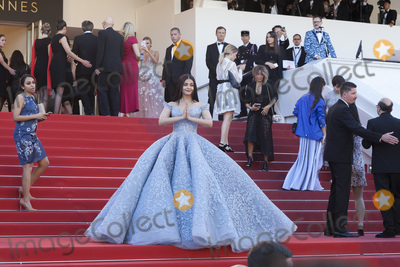 Aishwarya Photo - CANNES FRANCE - MAY 19 Aishwarya Rai Bachchan attends the Okja screening during the 70th Annual Cannes Film Festival at Palais des Festivals on May 19 2017 in Cannes France(Photo by Laurent KoffelImageCollectcom)