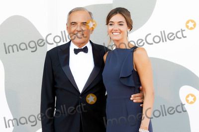 Alberto Barbera Photo - VENICE ITALY - SEPTEMBER 12 Director of the Festival Alberto Barbera and Julia Barbera walk the red carpet ahead of closing ceremony at the 77th Venice Film Festival on September 12 2020 in Venice Italy(Photo by Laurent KoffelImageCollectcom)