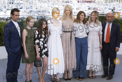 Angourie Rice Photo - CANNES FRANCE - MAY 24 (L-R) Actors Colin Farrell Angourie Rice Addison Riecke Elle Fanning Nicole Kidman director Sofia Coppola actress Kirsten Dunst and producer Youree Henley attend The Beguiled photocall during the 70th annual Cannes Film Festival at Palais des Festivals on May 24 2017 in Cannes France(Photo by Laurent KoffelImageCollectcom)