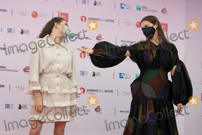 Amira Casar Photo - VENICE ITALY - SEPTEMBER 02 Amira Casar and Zo Adjani attend Honey Cigar photocall at the Giornate degli Autori during the 77th Venice Film Festival on September 02 2020 in Venice Italy(Photo by Laurent KoffelImageCollectcom)