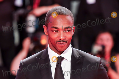 Anthony Mackie Photo - VENICE ITALY - AUGUST 30 Anthony Mackie walks the red carpet ahead of the Seberg screening during the 76th Venice Film Festival at Sala Grande on August 30 2019 in Venice Italy(Photo by Laurent KoffelImageCollectcom)