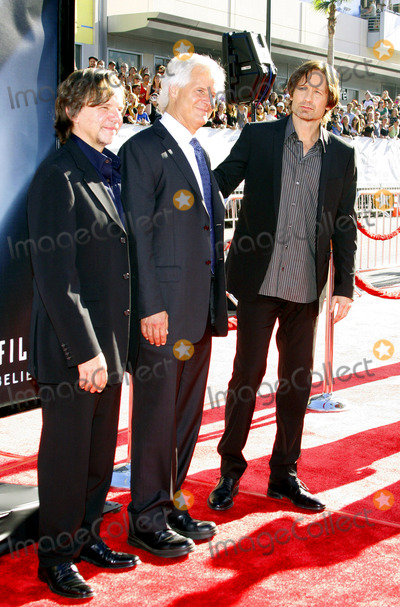 Chris Carter Photo - Chris Carter and David Duchovny at the World Premiere of The X-Files I Want To Believe held at the Graumans Chinese Theater in Hollywood California United States on July 23 2008 Copyright 2007-2008 by Popular Images