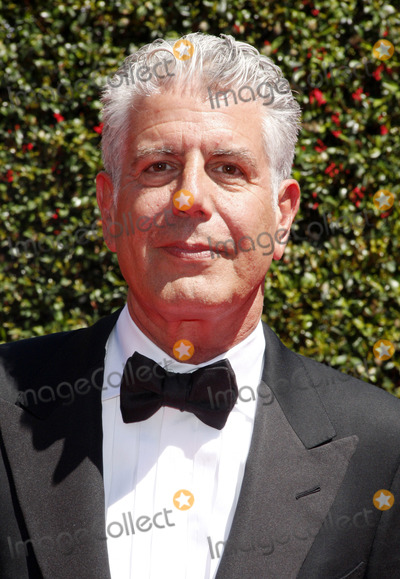Anthony Bourdain Photo - Anthony Bourdain at the 2014 Creative Arts Emmy Awards held at the Nokia Theatre LA Live in Los Angeles United States 160814