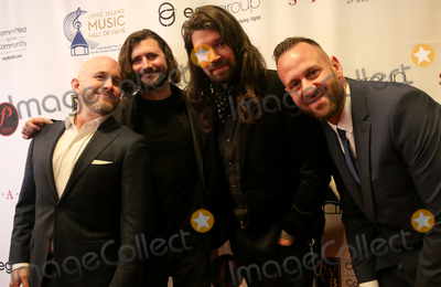 Adam Lazzara Photo - WESTBURY NY - NOV 8 (L-R) Shaun Cooper John Nolan Adam Lazzara and Mark OConnell of Taking Back Sunday attend the 2018 Long Island Music Hall of Fame induction ceremony at The Space at Westbury on November 8 2018 in Westbury New York
