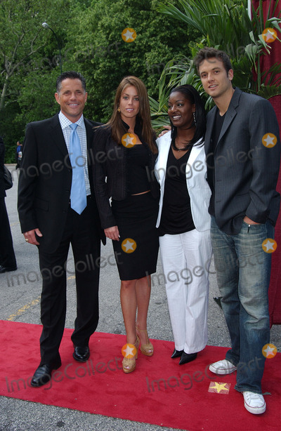 Aras Baskauskas Photo - Actors Terry Deitz Danielle DiLorenzo Cirie Fields and Aras Baskauskas arriving at the CBS Upfronts event
