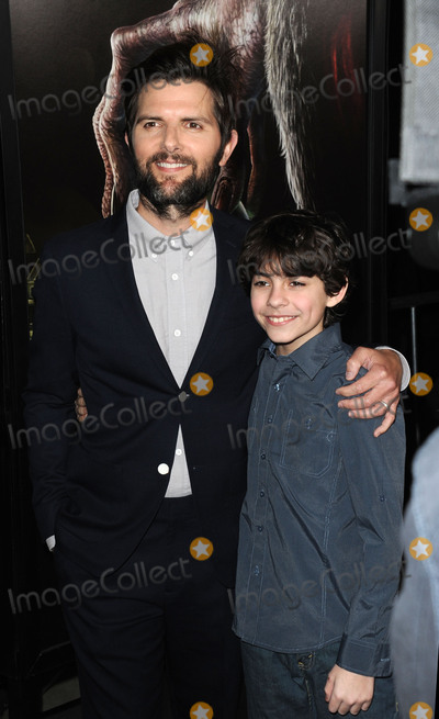 Adam Scott Photo - November 30 2015 LAAdam Scott and Emjay Anthony (R) arriving at a screening of Krampus at the ArcLight Cinema on November 30 2015 in Hollywood CaliforniaBy Line Peter WestACE PicturesACE Pictures Inctel 646 769 0430