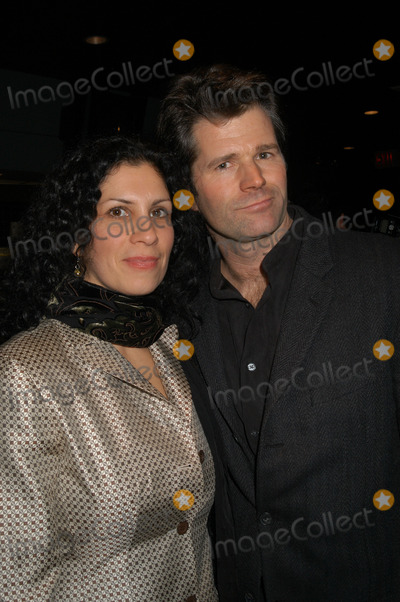 Andre Dubus III Photo - Author Andre Dubus III and wife Fontaine arrive at the Dreamworks film premiere of House of sand and fog in New York City December 05 2003