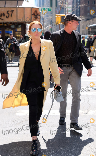 Michael Lohan Photo - April 13 2016 New York CityActress Lindsay Lohan and her father Michael Lohan walk in Midtown Manhattan on April 13 2016 in New York CityBy Line Curtis MeansACE PicturesACE Pictures Inctel 646 769 0430