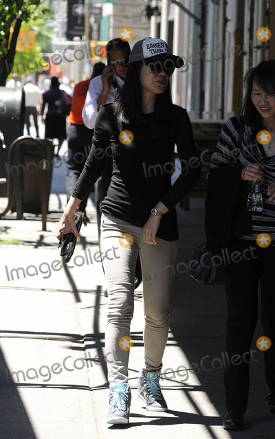 Yunjin Kim Photo - June 2 2014 New York CityActress Yunjin Kim walks in Soho on June 2 2014 in New York City