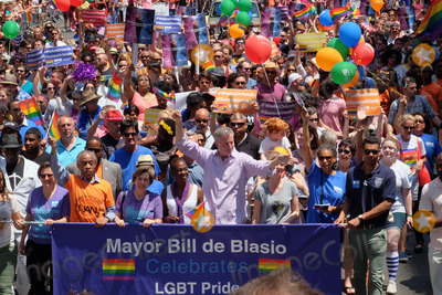 Al Sharpton Photo - June 26 2016 New York CityAl Sharpton Mayor of New York City Bill de Blasio Chirlane McCray and Cynthia Nixon attending the New York City Pride 2016 Parade on June 26 2016 in New York CityBy Line Curtis MeansACE PicturesACE Pictures IncTel 6467670430