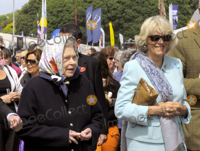 Her Majesty The Queen Photo - Her Majesty the Queen and Camilla Duchess of Cornwall at the Royal Windsor Horse Show on May 12 2011 in Windsor England