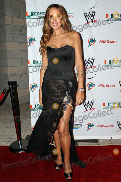 Angelica Castro Photo - Angelica Castro arriving at the  WrestleMania Premiere party on March 29 2012 in Miami Beach Florida