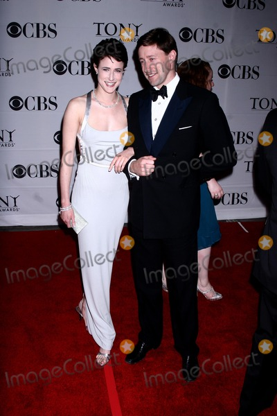 Xanthe Elbrick Photo - Actress Xanthe Elbrick and guest arrive at the 61st Annual Tony Awards held at Radio City Music Hall