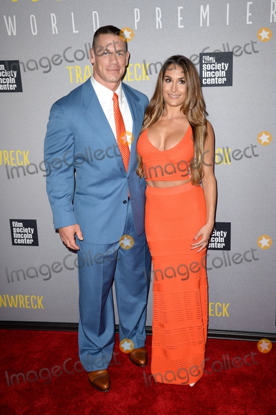 Brie Bella Photo - July 14 2015 New York CityJohn Cena and Brie Bella attending the Trainwreck World Premiere at Alice Tully Hall on July 14 2015 in New York CityCredit Kristin CallahanACE PicturesTel 646 769 0430