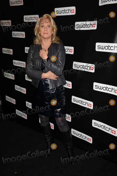 Arlette-Elsa Emch Photo - Swatch global brand president Arlette-Elsa Emch at the Swatch re-launch at the Swatch Store in Times Square on November 12 2009 in New York City