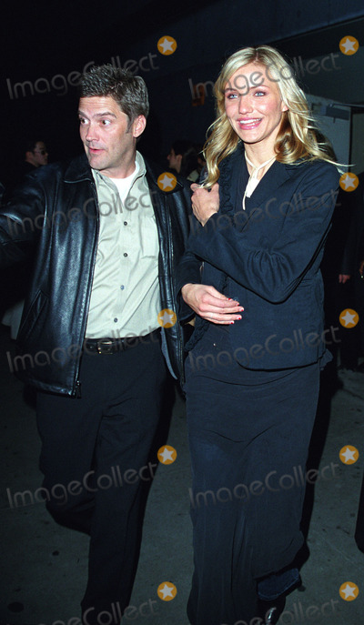 Cameron Diaz Photo - CAMERON DIAZ and her publicist depart from the world premiere of Columbia Pictures movie The Sweetest Thing in New York April 8 2002