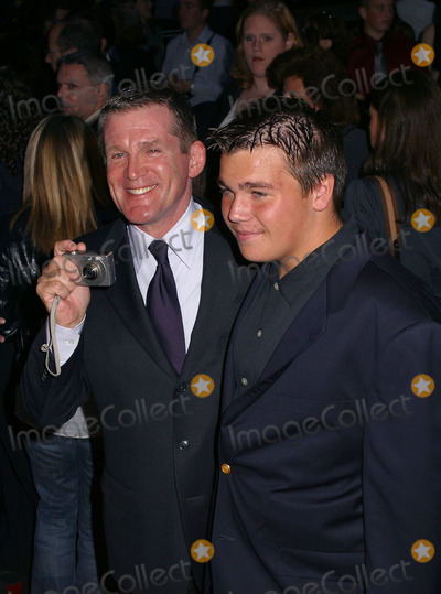 Anthony Heald Photo - Anthony Heald and his son attending the world premiere of Red Dragon New York September 30 2002