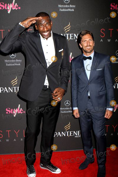 Amare Stoudemire Photo - September 5 2012 New York City NYAmare Stoudemire and Henrik Lundqvist arriving at the 9th Annual Style Awards at Lincoln Center on September 5 2012 in New York City