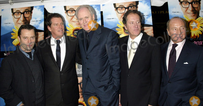 Geoffrey Rush Photo - NEW YORK NOVEMBER 19 2004    Stephen Hopkins Freddy Demann Geoffrey Rush and John Lithgow at the New York premiere of The Life and Death of Peter Sellers