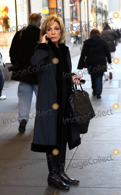 Andrea Mitchell Photo - anchor Andrea Mitchell out in Manhattan on February 28 2012 in New York City