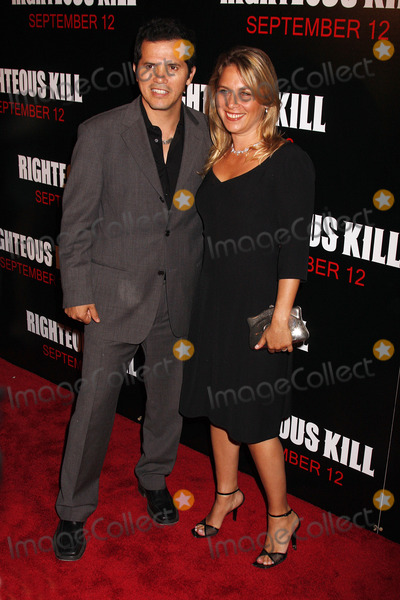 John Justin Photo - Actor John Leguizamo and Justine Maurer at the Premiere of Righteous Kill at the Zeigfeld Theatre on September 10 2008 in New York City