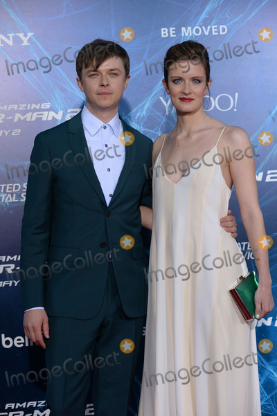 Anna Wood Photo - April 24 2014 New York CityDane Dehaan and Anna Wood attending the The Amazing Spider-Man 2 New York Premiere in New York City on April 24 2014