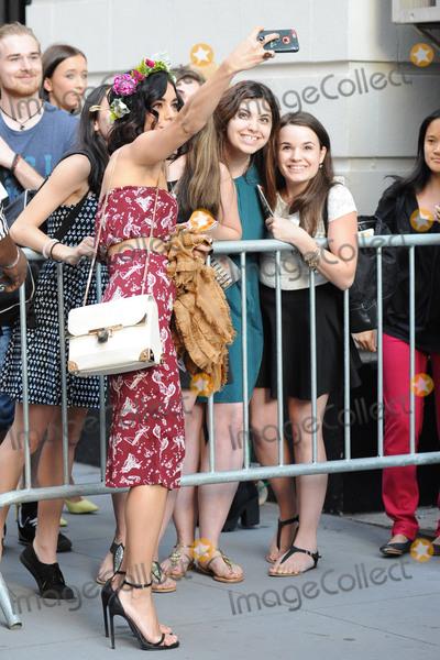 Neil Simon Photo - June 19 2015 New York CityVanessa Hudgens arrives to a performance of Gigi on Broadway at The Neil Simon Theatre on June 19 2015 in New York CityCredit Kristin CallahanAcePicturesTel (646) 769 0430