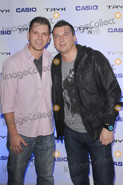 ALBIE MANZO Photo - Albie Manzo and Chris Manzo attend the CASIO Launch of Tryx Camera with Performance by Nicki Minaj Best Buy Theatre In Time Square on April 7 2011 in New York City