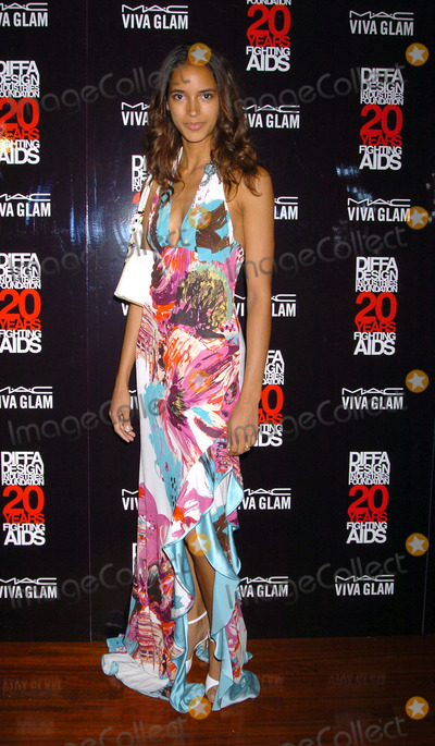 ANGELA MARIE Photo - Model Angela Marie at the Viva Glam Casino event in support of the Design Industries Foundation Fighting Aids Copacabana Club New York City June 24 2004