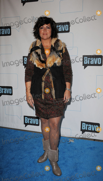 APRIL BARTEN Photo - (L-R) TV personality April Barten arriving at Bravos 2010 Upfront Party at Skylight Studio on March 10 2010 in New York City