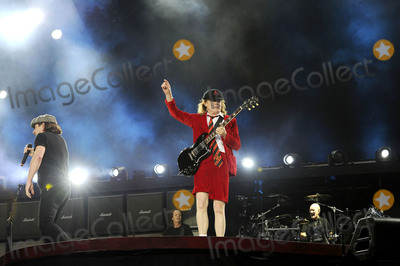Angus Young Photo - July 4 2015 LondonAngus Young of ACDC performs at Wembley Stadium on July 4 2015 in London By Line FamousACE PicturesACE Pictures Inctel 646 769 0430