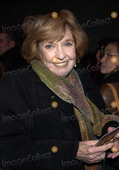 Ann Meara Photo - Ann Meara arriving at the Royale Theater for the opening night of Ma Raineys Black Bottom New York February 6 2003