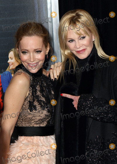 Melanie Griffiths Photo - February 3 2016 New York City(L-R) Leslie Mann and Melanie Griffith arriving at the How To Be Single New York premiere at the NYU Skirball Center on February 3 2016 in New York CityBy Line Nancy RiveraACE PicturesACE Pictures Inctel 646 769 0430