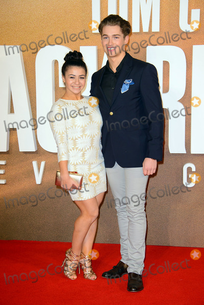 AJ Pritchard Photo - October 20 2016 LondonClaudia Fragapane and AJ Pritchard arriving at the European premiere of Jack Reacher Never Go Back at Cineworld Leicester Square on October 20 2016 in London EnglandBy Line FamousACE PicturesACE Pictures IncTel 6467670430