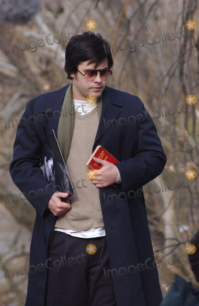 Jared Leto Photo - Jared Leto and Tara Subkoff were in Central Park filming Chapter 27 The movie follows the days leading up to the murder of John Lennon by Mark David Chapman (played by Leto) Lindsay Lohan will also be in the movie Leto can be seen clutching a John Lennon album and a copy of Catcher in the Rye