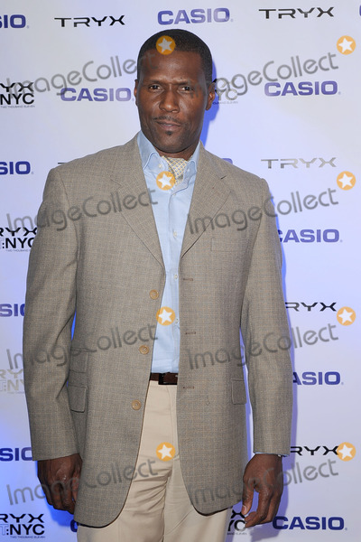 CURTIS COOK Photo - Curtis Cook attends the CASIO Launch of Tryx Camera with Performance by Nicki Minaj Best Buy Theatre In Time Square on April 7 2011 in New York City