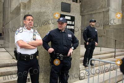 Court Officers Photo - The front of the Manhattan Criminal Court during the bail hearing of Dominique Strauss-Kahn who has been held on charges of sexual assault on May 19 2001 in New York City