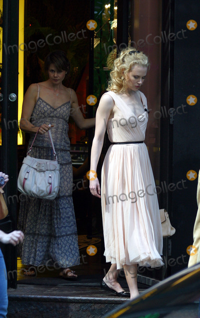 Agent Provocateur Photo - Actress Nicole Kidman and her sister Antonia spotted having late lunch at Cipriani on West Broadway after which they went shopping to Agent Provocateur a SoHo boutique specializing in womens underwear  New York June 8 2004