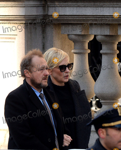 Andrew Upton Photo - February 7 2014 New York CityActress Cate Blanchett and her husband Andrew Upton arrive at Philip Seymour Hoffmans funeral at St Ignatius Loyola Church in Manhattan on February 7 2014 in New York City