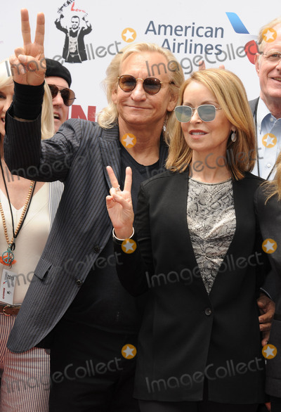 Joe Walsh Photo - July 7 2015 LAJoe Walsh (L) at Starrs 75th birthday fan gathering at Capitol Records on July 7 2015 in Hollywood California By Line Peter WestACE PicturesACE Pictures Inctel 646 769 0430
