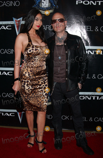 Tara Patrick Photo - Adult film actress Tara Patrick and actor Evan Seinfeld arriving for the 50 Cent performance at The Pontiac Garage Stage poolside at The Hard Rock Hotel and Casino in Las Vegas