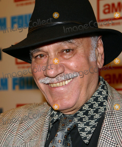 ALDO SAMBRELL Photo - Aldo Sambrell (who acted in the original film) arrives at the premiere of newly restored version of The Good The Bad And The Ugly during Secon Annual TriBeCa Film Festival May 8 2003