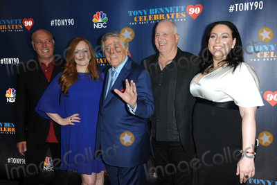 Antonia Bennett Photo - September 15 2016 New York CityDanny Bennett Antonia Bennett Tony Bennett Dae Bennett Johanna Bennett attending Tony Bennett Celebrates 90 The Best Is Yet To Come at Radio City Music Hall on September 15 2016 in New York CityCredit Kristin CallahanACE PicturesTel 646 769 0430