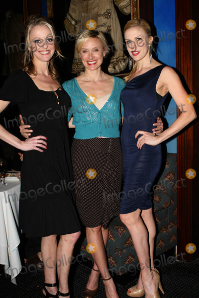 Astaire Photo - (L-R) Angie Schworer and Rachel De Benedet at the Fred and Adele Astaire Awards Nominees anouncements on April 26 2011 in New York City