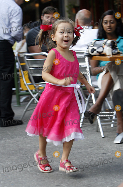 AVA JACKMAN Photo - Actor Hugh Jackman with daughter Ava had lunch with his family at Da Silvano in Soho on July 10 2009 in New York City